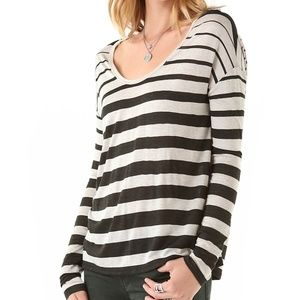 Soft Joie  'Gilda Variegated' Striped Top XS